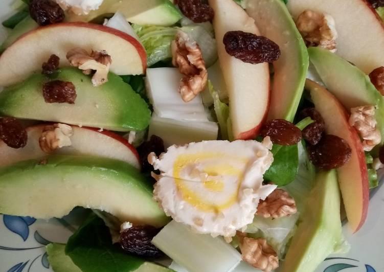 Ensalada verde con frutas