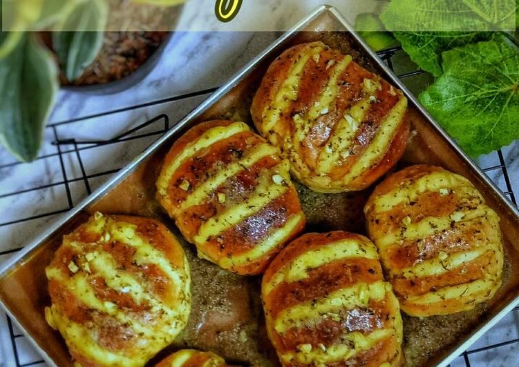 Korean Cheese Garlic Bread (versi ekonomis)