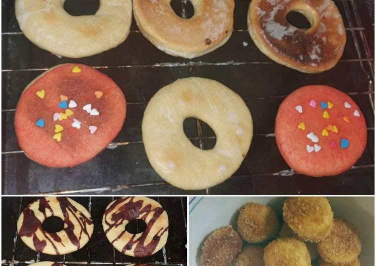 Easiest Way to Make Perfect 3 Simple Doughnut Toppings