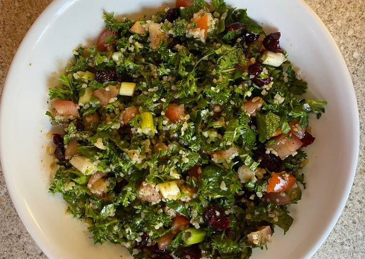 Discover How to Boost Your Mood with Food Tabbouleh with cranberries