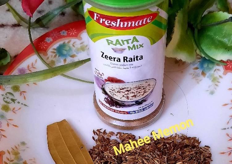 Steps to Prepare Favorite Zeera Raita masala