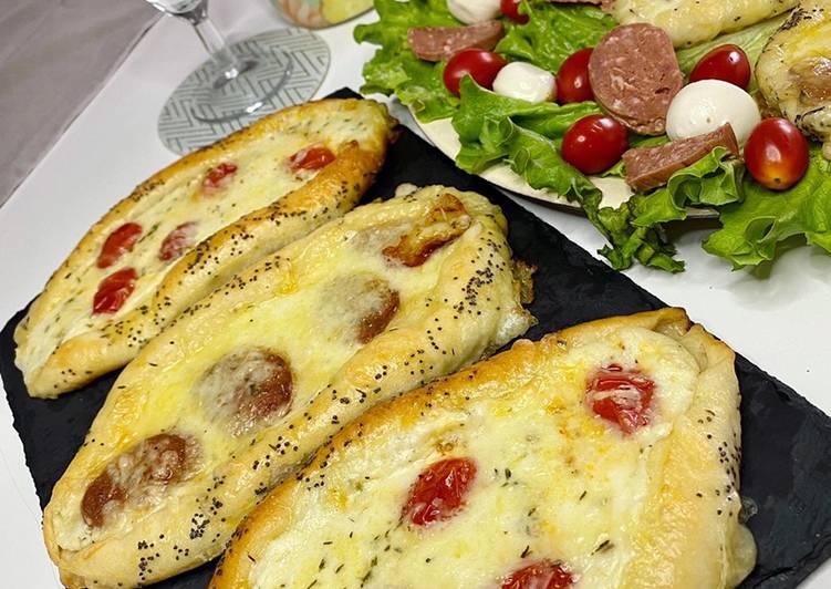 Comment Faire Des Pizza turque | Pide 🇹🇷