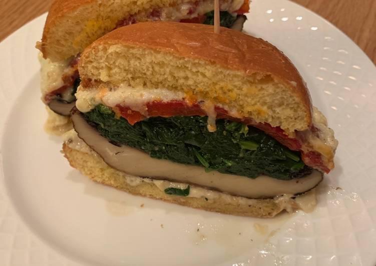 Recipe of Favorite Italian Mushroom Burger