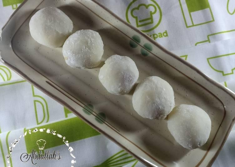 Mochi Isi Kacang Tanah - cookandrecipe.com