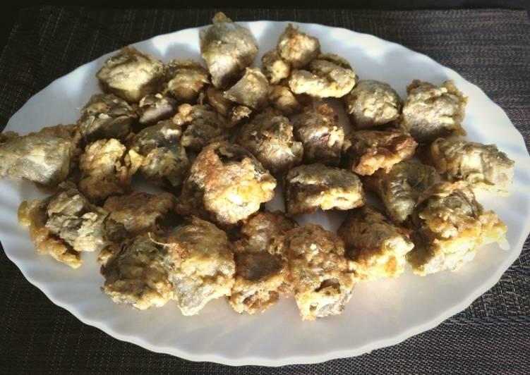 receta de alcachofas rebozadas en salsa