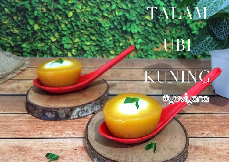 Kue Talam Ubi kuning
