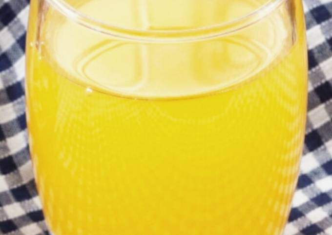 Yummy,cool,seedless passion fruit juice