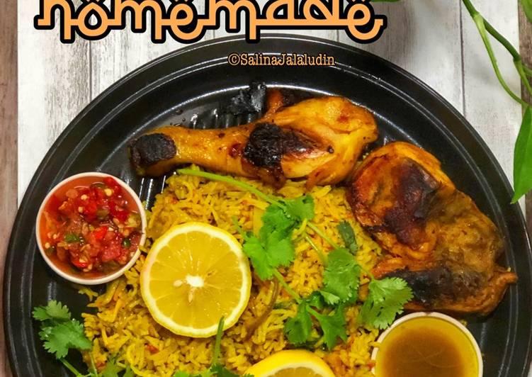 Nasi Arab Homemade - resepipouler.com