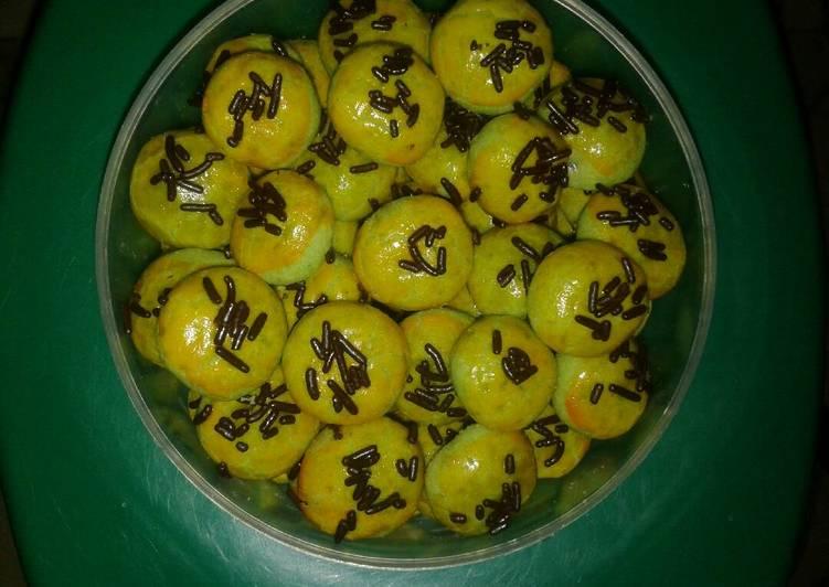 Resep Nastar pandan isi coklat ala ala, Bisa Manjain Lidah