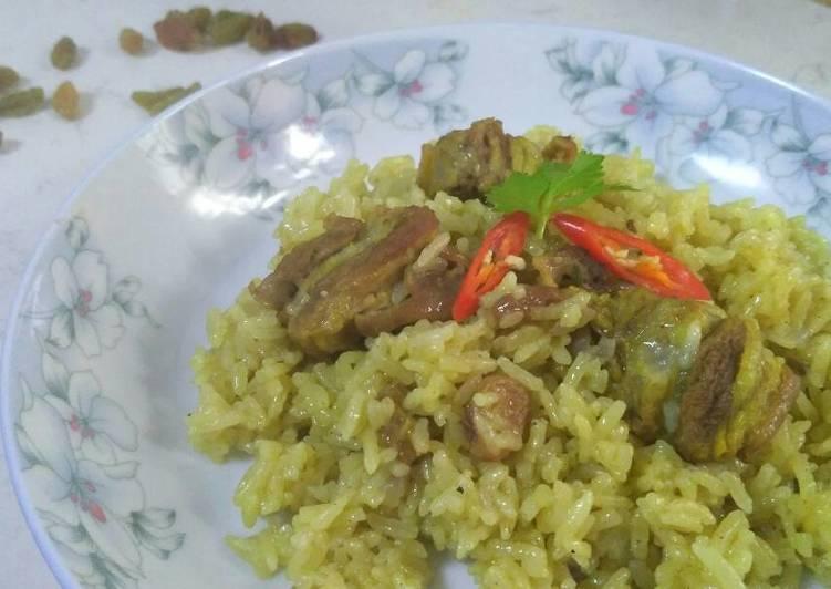 Nasi Kebuli Kuwait