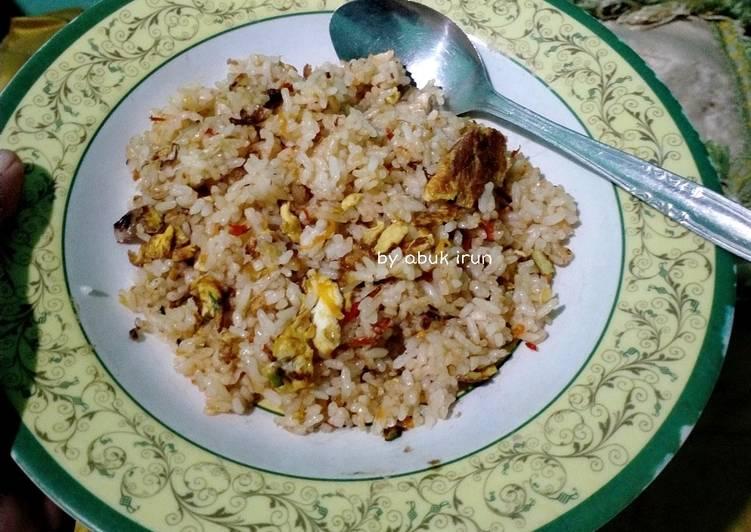 Nasi Goreng Putih Biasa
