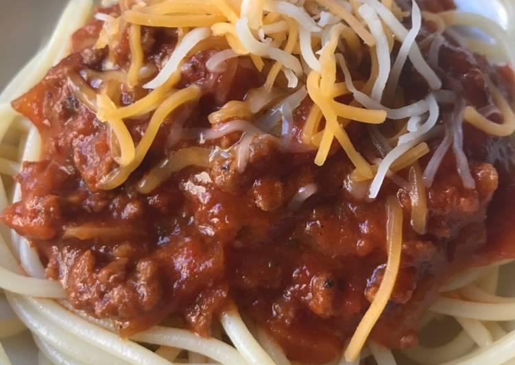 Grandma's Spaghetti