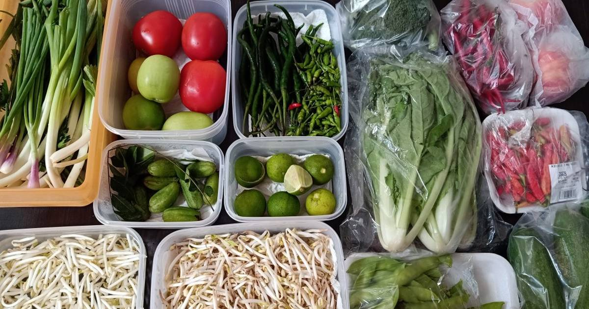 tips menyimpan sayur buah