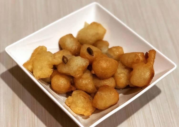 Recipe of Any-night-of-the-week Sweet dumplings (Kaimati)