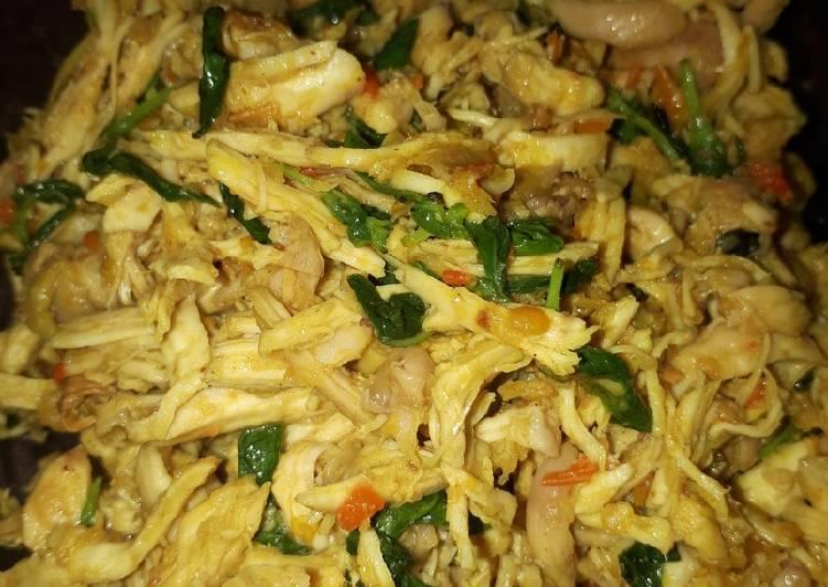 Ayam Suwir Bumbu Rica-rica