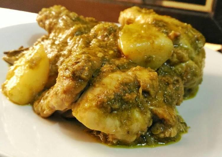 Ayam Cabe Hijau a.k.a Ayam Lado Ijau / Lado Mudo