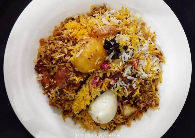 Grandmother's Dinner Easy Any Night Of The Week Calcutta (Kolkata) style Mutton Biryani