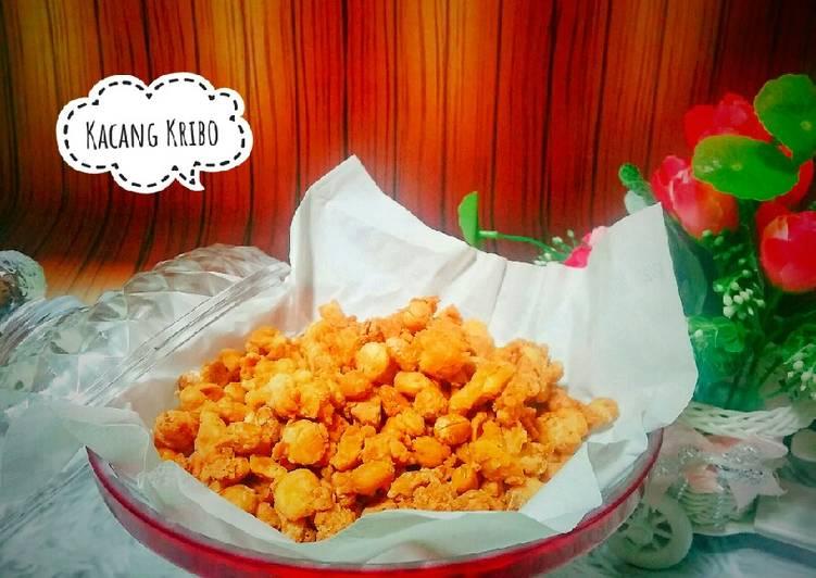 Kacang Kribo Crispy dan Gurih