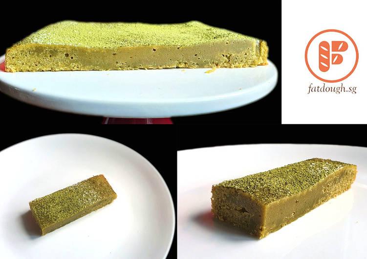 Steps to Make Homemade Matcha Kladdkaka
