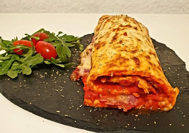 Low-Carb Pizzarolle