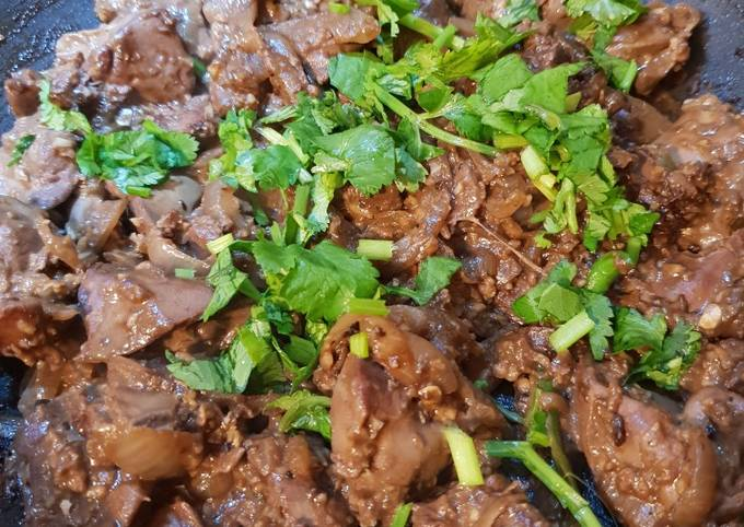 Chinese chicken livers