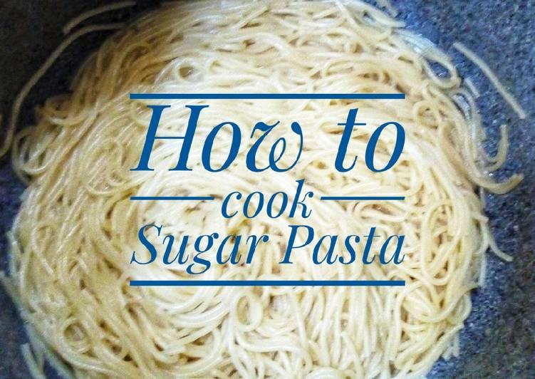 Sugar pasta
