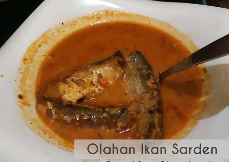 Olahan Ikan Sarden Kaleng