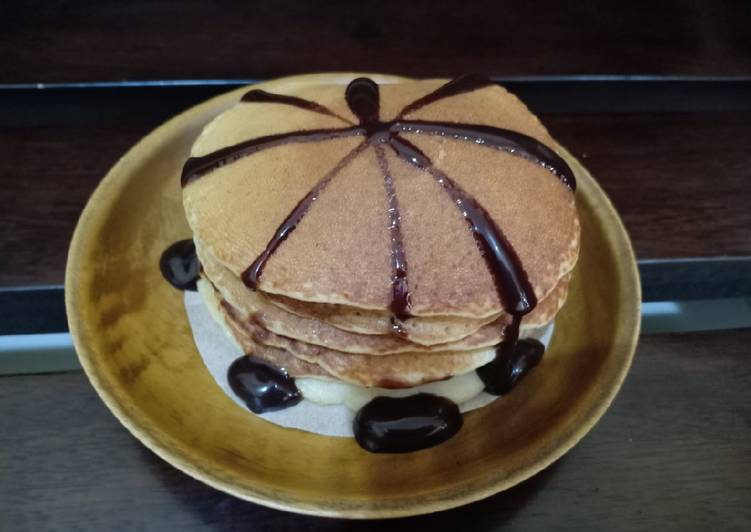 Pancake Teplon Susu Coklat