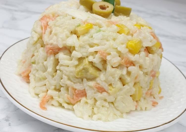 Comment Préparer Les Salade de riz
