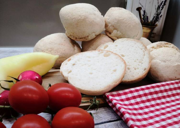 Gluténmentes, pihe-puha zsemle recept foto