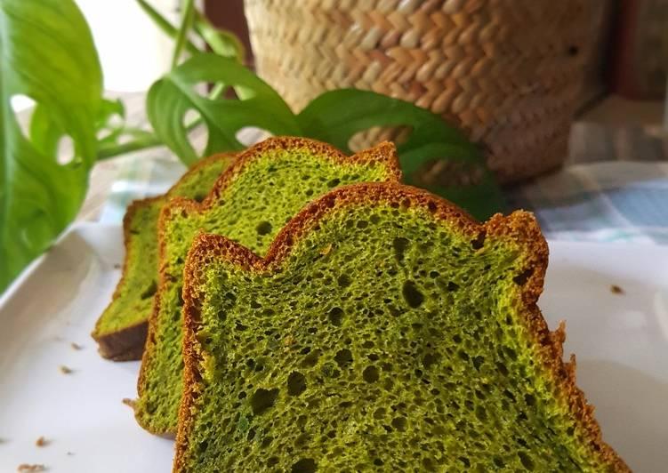 Chiffon Cake Greentea
