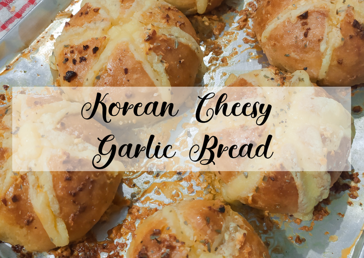 Korean Cheesy Garlic Bread Ekonomis