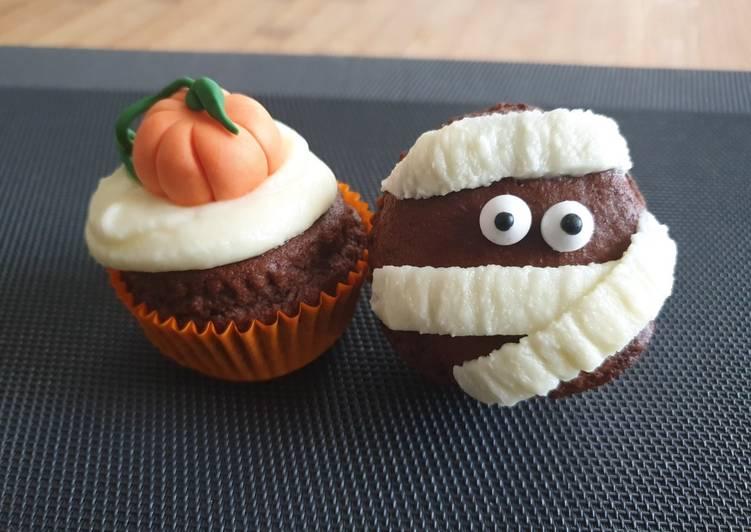 Muffin senza uova di Halloween 🎃