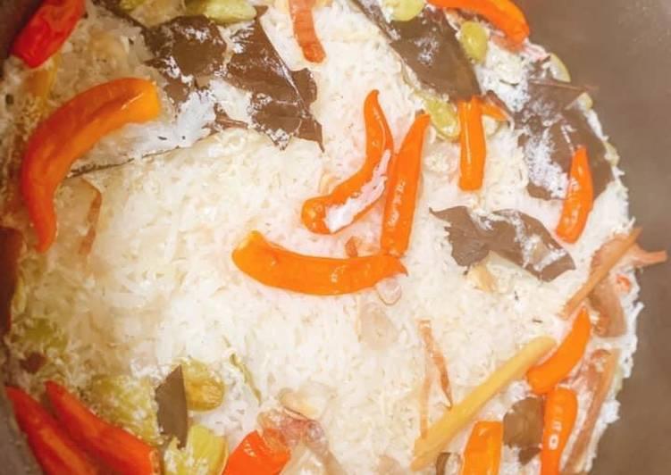 Nasi liwet raiscoker - cookandrecipe.com
