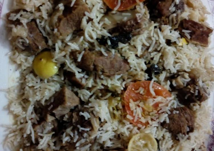 Steps to Prepare Perfect Beef pulao