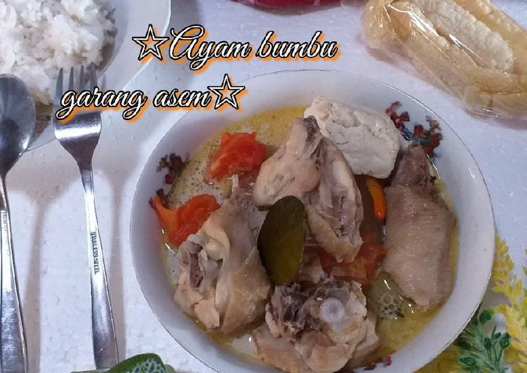 Ayam bumbu Garang Asem