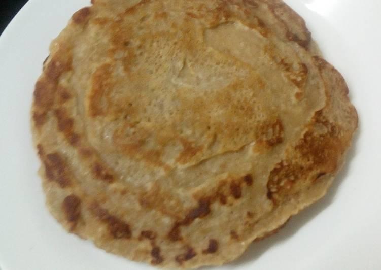 Weetabix and Oat Digestive Pancake
