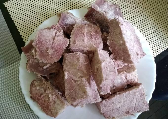 Oven baked arrowroots#seasonal ingredients