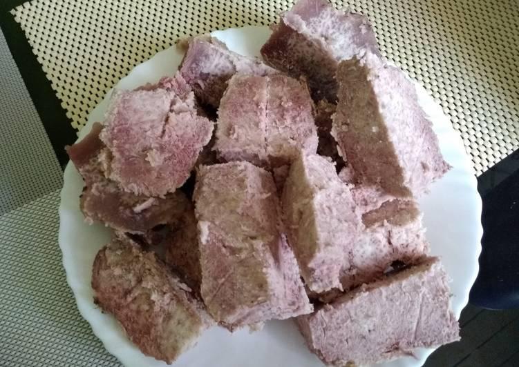 Recipe of Most Popular Oven baked arrowroots#seasonal ingredients