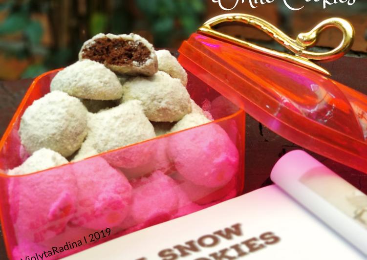 Resep Black Snow White Cookies yang Bikin Ngiler