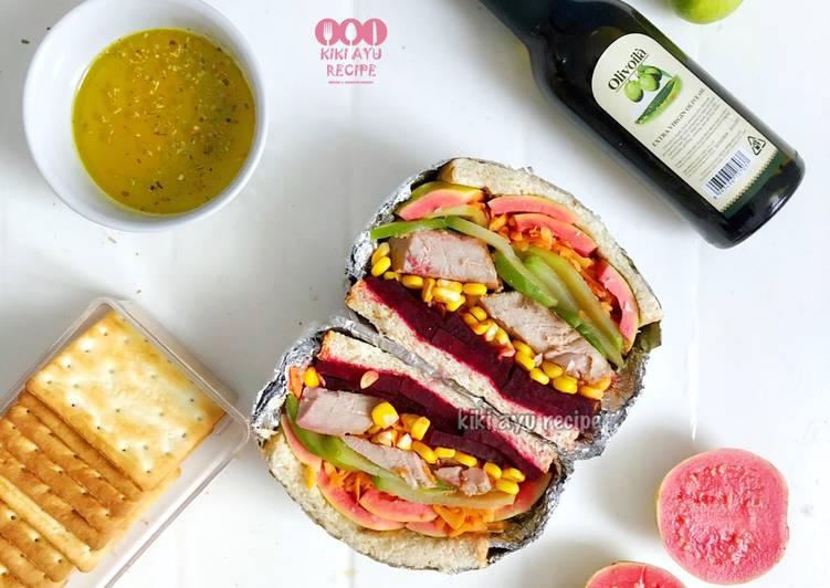 Resep Sandwich With Olivoila Vinaigrette Paling dicari