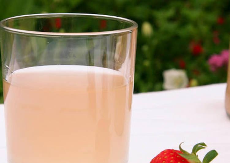 Kéfir de fraise