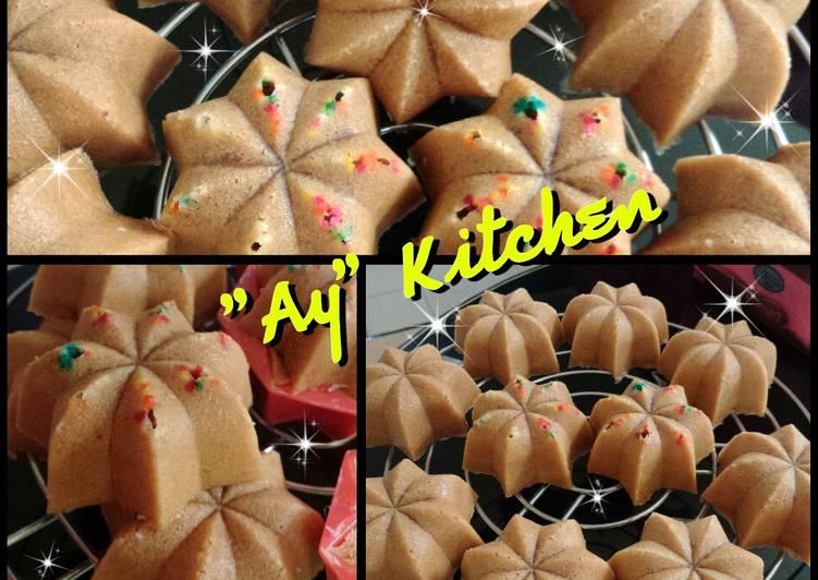 resep buat Bolu Karamel Sakura (bolu jadul)🌺 - Sajian Dapur Bunda