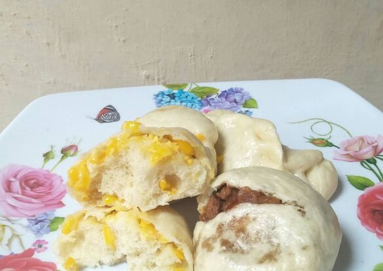 Resep Bakpao jagung manis & ayam kecap Paling Mudah