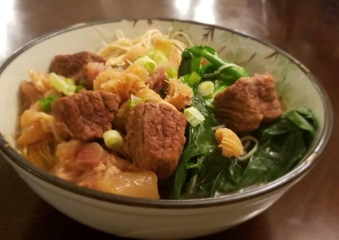 Beef Brisket Noodle Soup (Instant Pot)