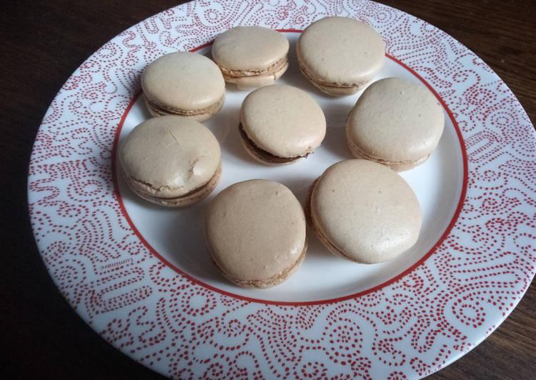 Macarons à la chapelure