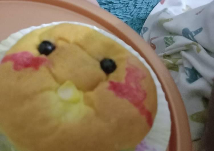 Roti Labu Kuning isi pisang