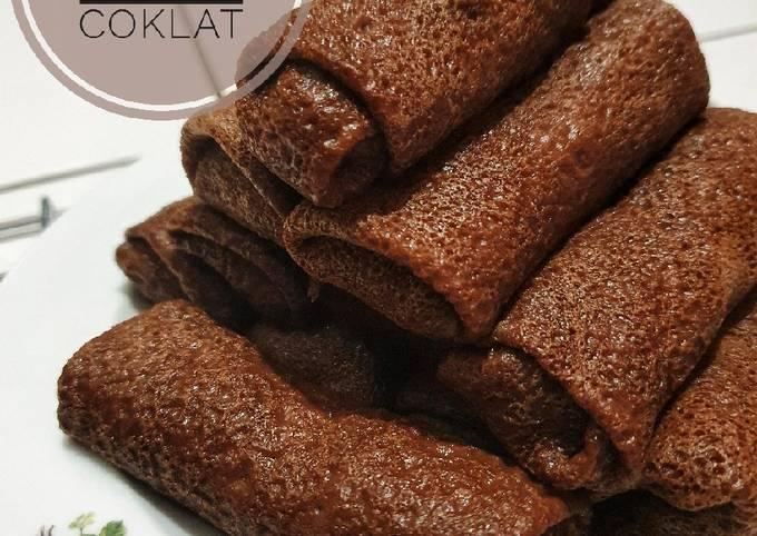 Resep Dadar Gulung Coklat, Lezat Sekali