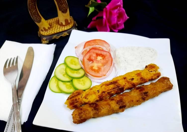 30 Minute Steps to Prepare Winter Chicken Seekh kabab