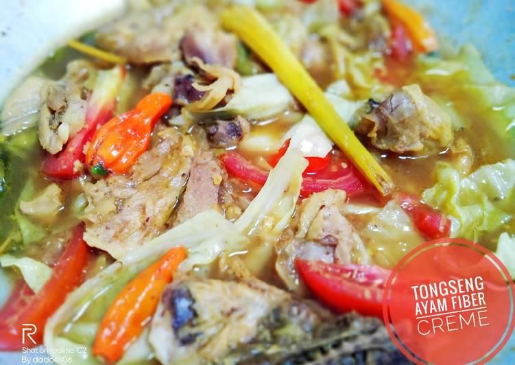 Tongseng ayam fiber creme